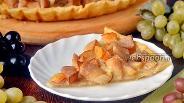 Фото рецепта Пирог с китайской грушей и сгущённым молоком
