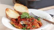 Фото рецепта Судак, запечённый в томате с сыром Фета