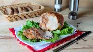 Фото рецепта Свинина, тушёная в рукаве в мультиварке