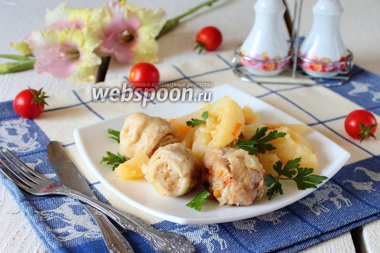 Фото Штрудели с курицей и картошкой в мультиварке