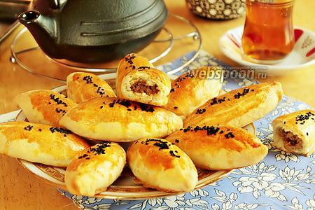 Пирожки «Кыйыр» бездрожжевые печёные