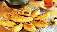 Фото рецепта Пирожки «Кыйыр» бездрожжевые печёные