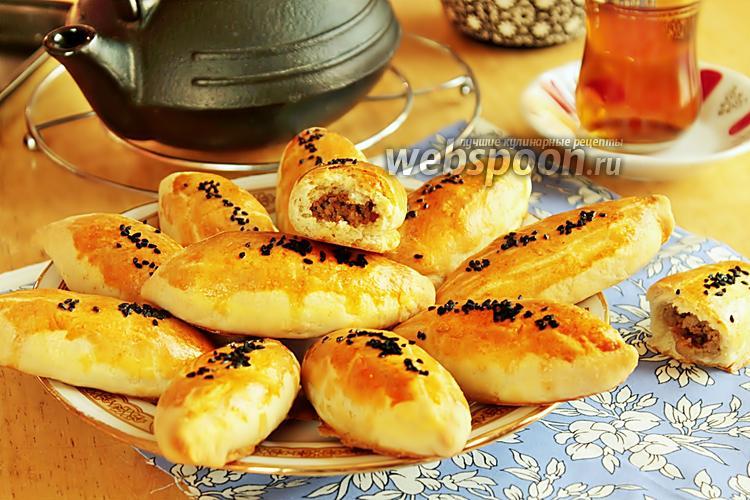 Фото Пирожки «Кыйыр» бездрожжевые печёные