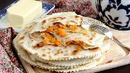 Фото рецепта Лепёшки с тыквой и луком