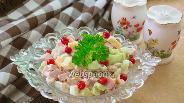 Фото рецепта Быстрый салат с фасолью