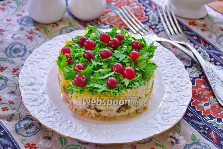 Салат «Костромское болото»