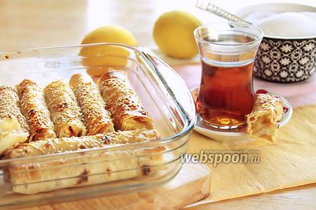 Пирожки-сигары из лаваша