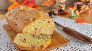 Фото рецепта Сырный хлеб с ветчиной