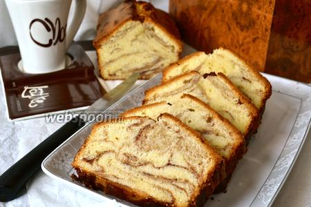 Мраморный кекс от Поля Бокюза
