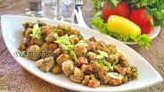 Фото рецепта Закусочные шампиньоны в панировке