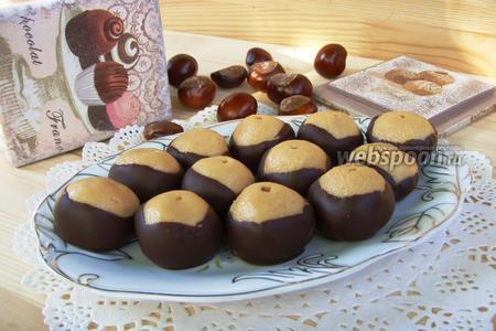 Американские конфеты «Buckeyes»