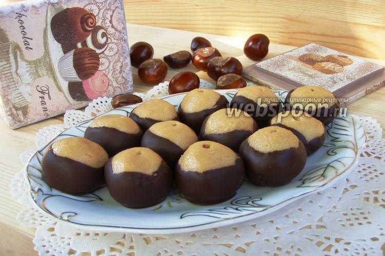 Фото Американские конфеты «Buckeyes»