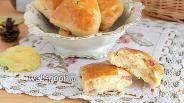 Фото рецепта Булочки со шкварками