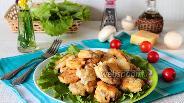 Фото рецепта Шампиньоны в сырном кляре