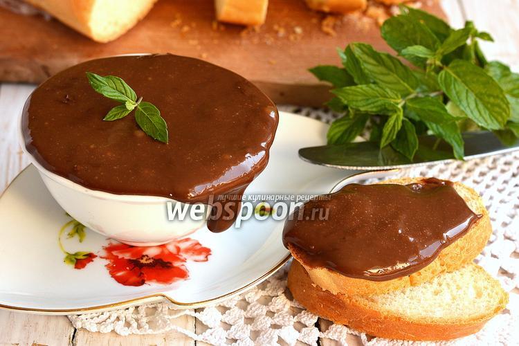 Фото Мягкий шоколадный плавленый сыр