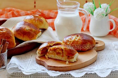 Пирожки с тыквой и яблоком