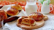 Фото рецепта Пирожки с тыквой и яблоком