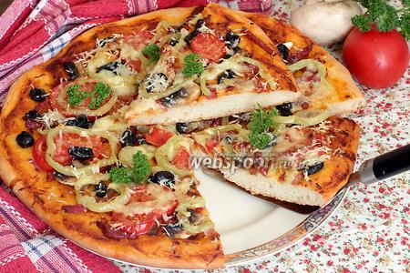 Пицца сборная домашняя