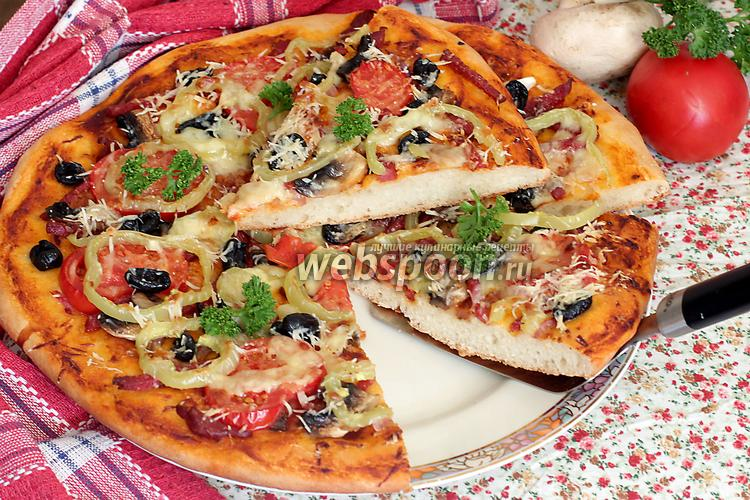 Фото Пицца сборная домашняя
