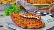 Фото рецепта Куриные отбивные в кукурузной панировке