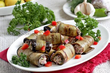 Грузинская закуска из баклажанов
