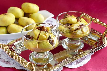 Инжир, запечённый с мёдом и орехами