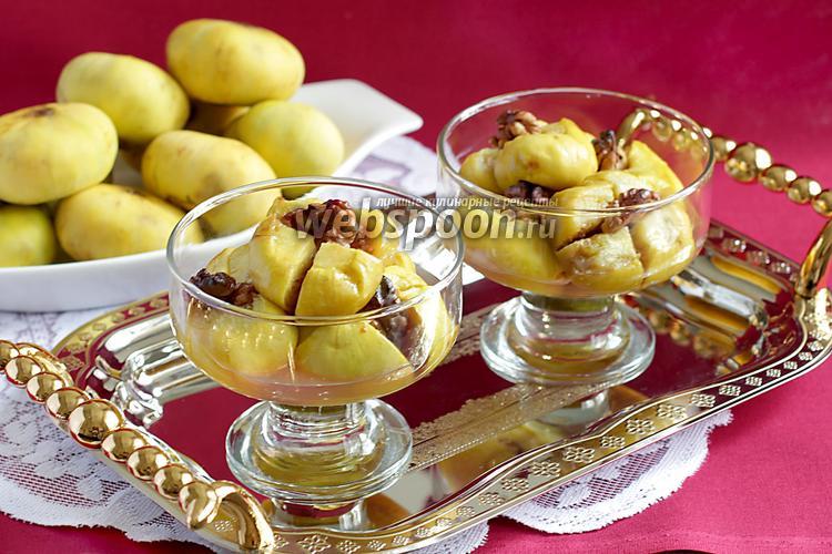 Фото Инжир, запечённый с мёдом и орехами