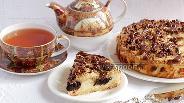 Фото рецепта Творожно-маковый пирог