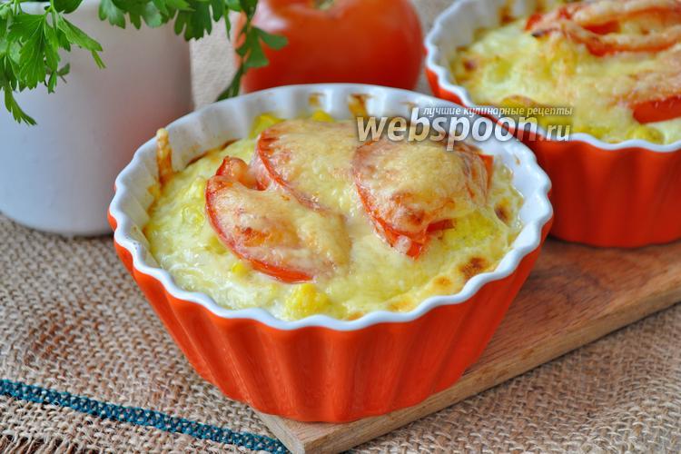 Фото Запеканка с цветной капустой для завтрака
