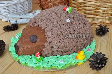 Торт шоколадный «Ёжик»