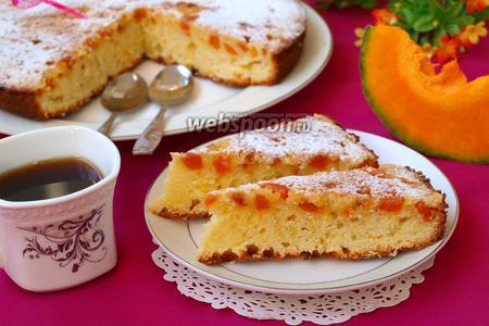 Тыквенный пирог-перевёртыш