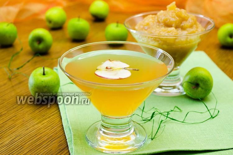 Фото Яблочный сироп