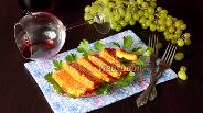 Фото рецепта Сыр жареный с томатом