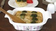 Фото рецепта Овощная шарлотка с рыбой