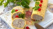 Фото рецепта Куриный рулет в сырной оболочке