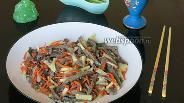 Фото рецепта Салат из говяжьего лёгкого