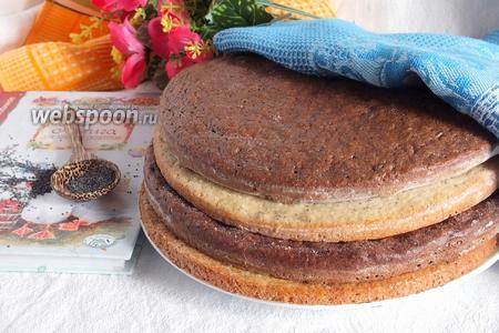Коржи для торта «Полстакана»