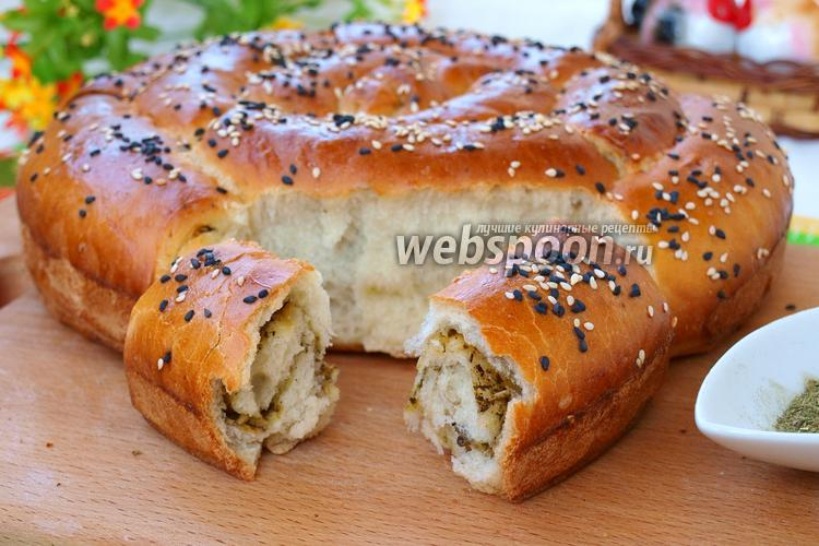 Фото Хлеб с сыром и прованскими травами