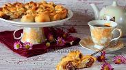 Фото рецепта Мясной пирог «Хризантема»