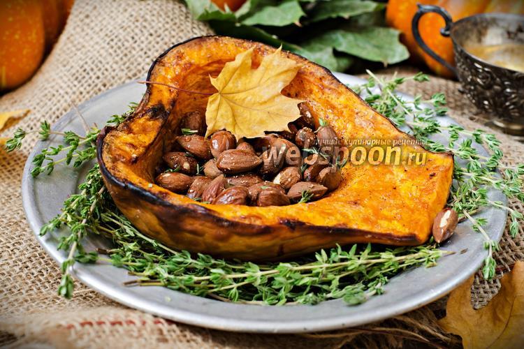 Фото Тыква, запечённая с мёдом и орехами