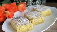 Фото рецепта Миндально-песочные пирожные