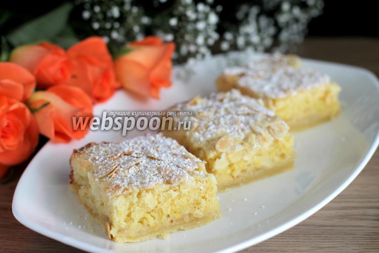 Фото Миндально-песочные пирожные