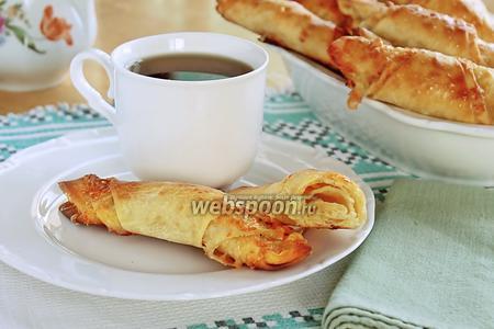 Сырные булочки-рогалики