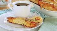 Фото рецепта Сырные булочки-рогалики