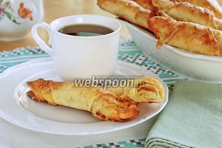 Фото Сырные булочки-рогалики