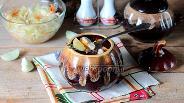 Фото рецепта Жаркое в горшочках из курицы с черносливом
