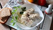 Фото рецепта Горбуша тушёная в сметане