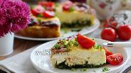 Фото рецепта Киш с сёмгой и шпинатом