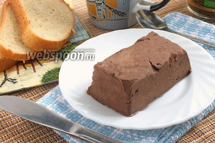 Фото Домашнее шоколадное масло