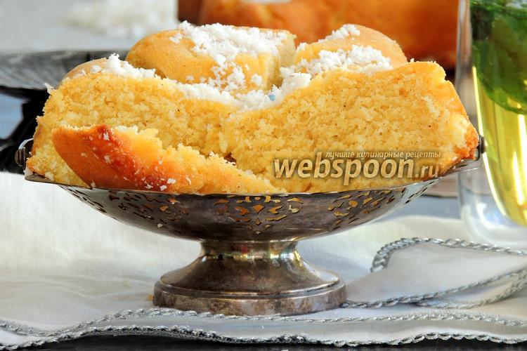 Фото Египетский манный пирог